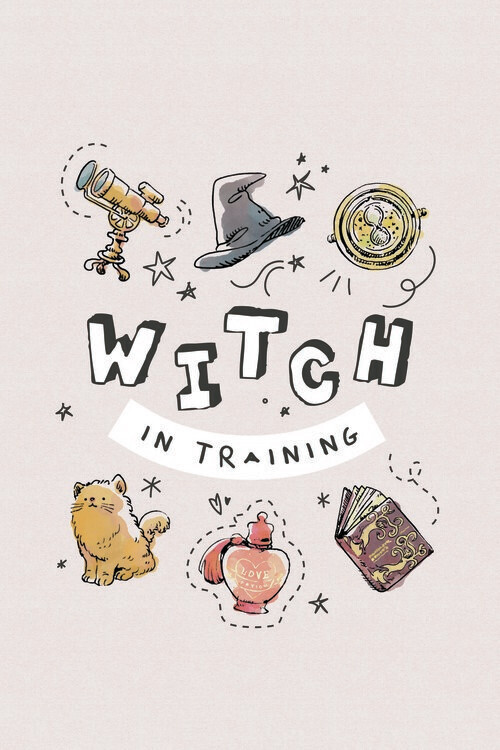 Poster Harry Potter - Häxa i träning