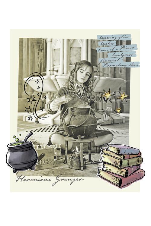 Poster Harry Potter - Hermine Granger