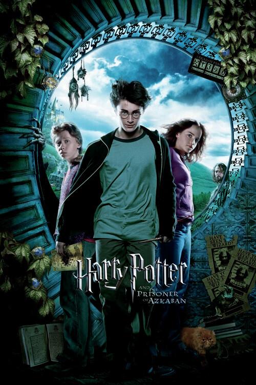 Poster Harry Potter - Jetnik iz Azkabana