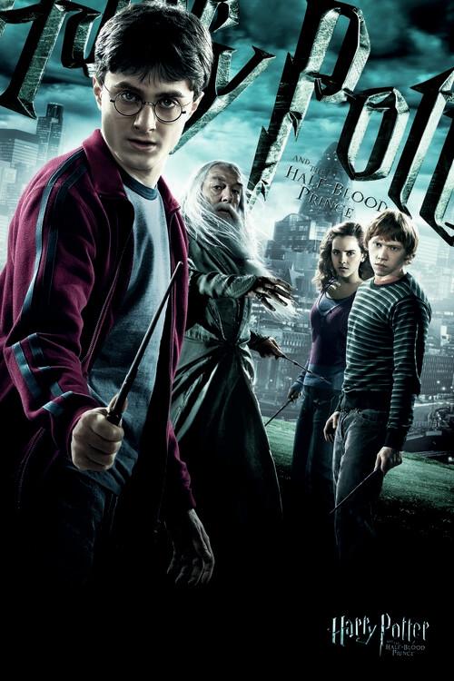 Poster Harry Potter - Polkrvni princ