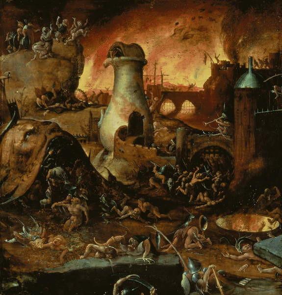Obrazová reprodukce Hell