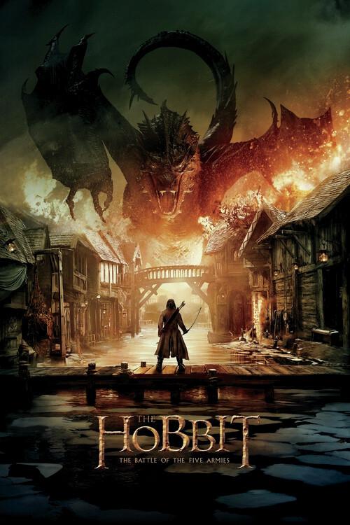 Plakat Hobbitten - Smaug
