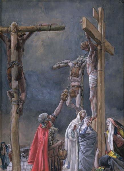 Obrazová reprodukce I Thirst. The Vinegar Given to Jesus