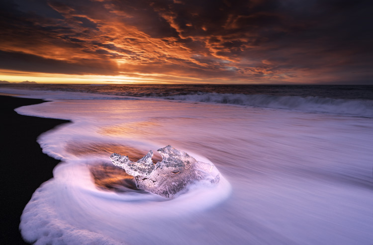 Photographie d'art Ice And Fire