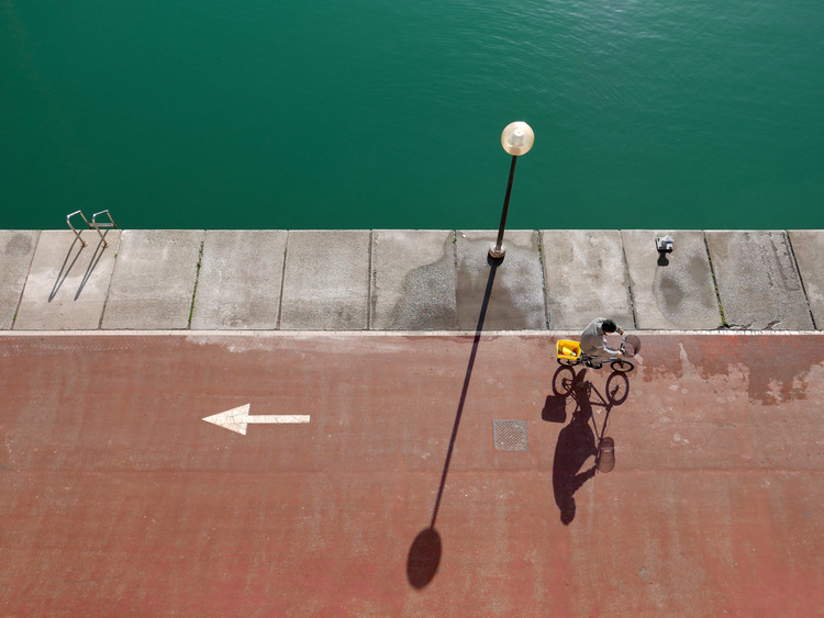 Photographie d'art in bici