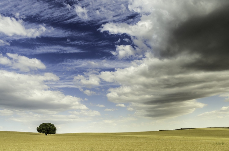 Fotografia artystyczna Incoming storm clouds