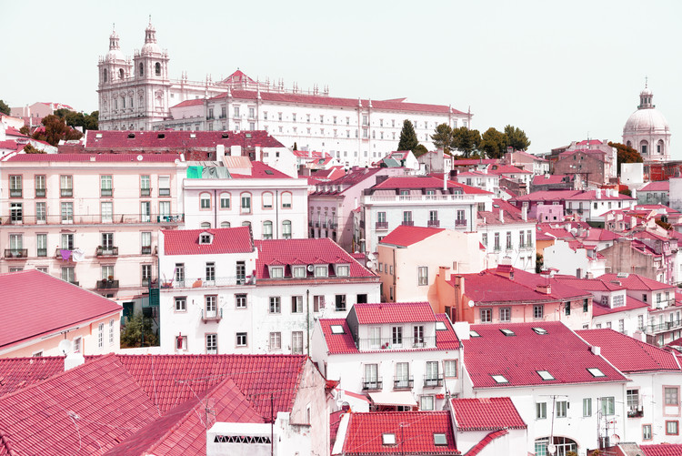 Kunstfotografie Incredible Lisbon Pink
