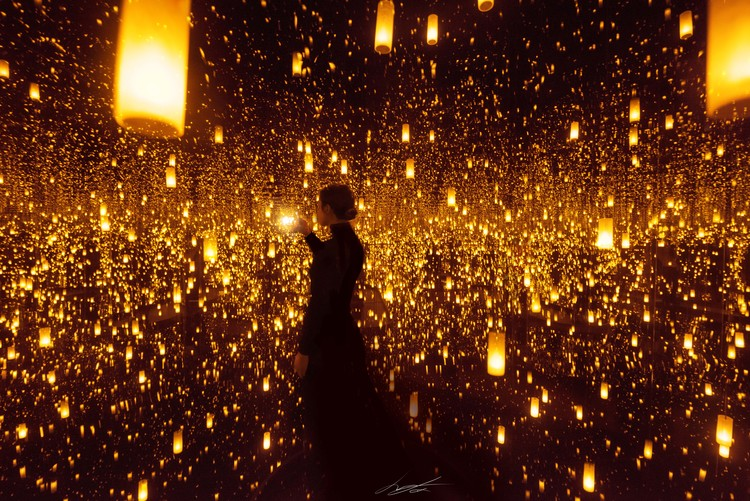 Photographie d'art Infinity Mirrors