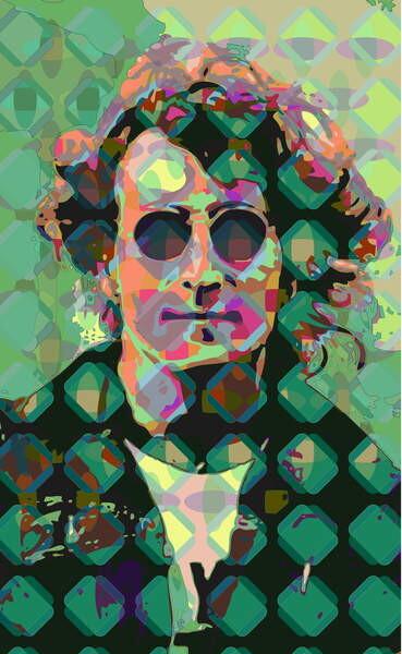 Obrazová reprodukce John Lennon