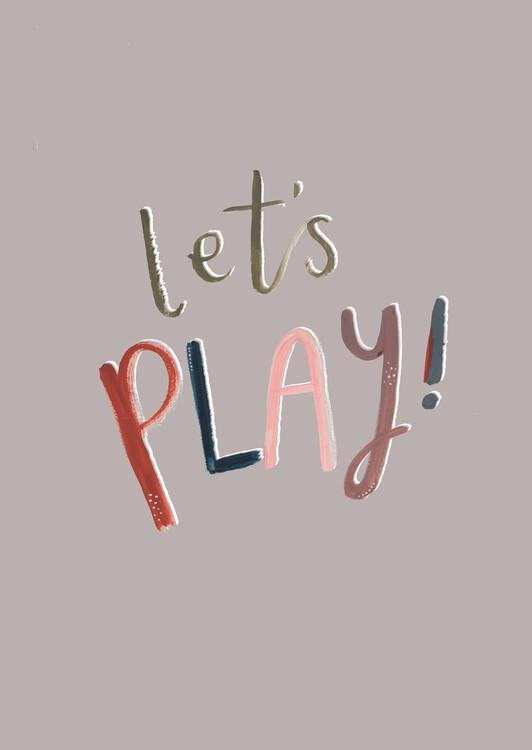 Umelecká fotografia Let's play