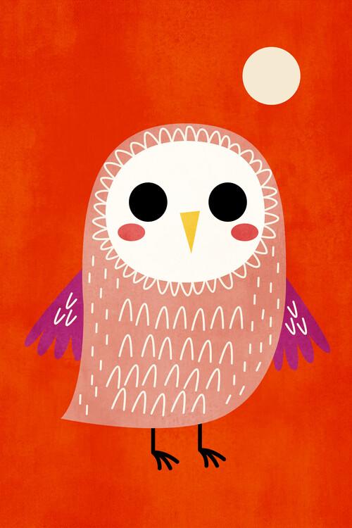 Illustrazione Little Owl