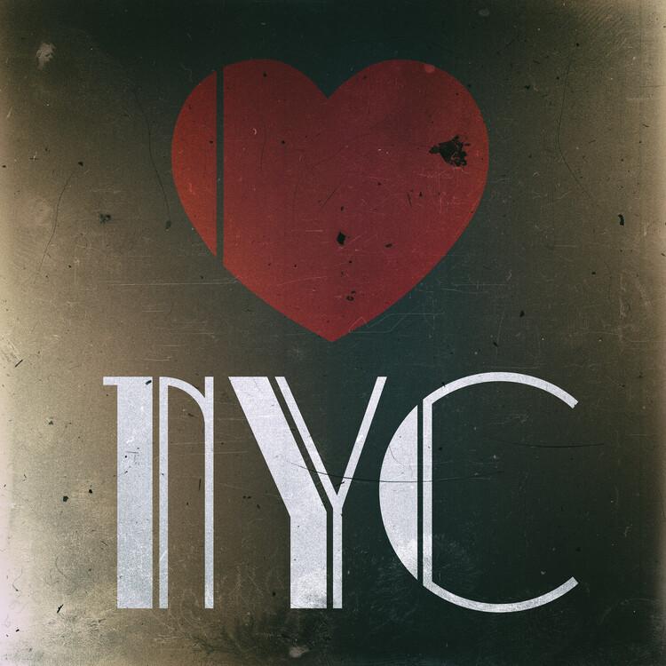 Umělecká fotografie Love NYC