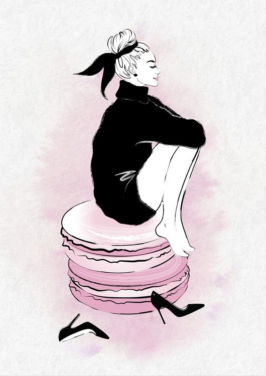 Umelecká fotografia Macaron Girl