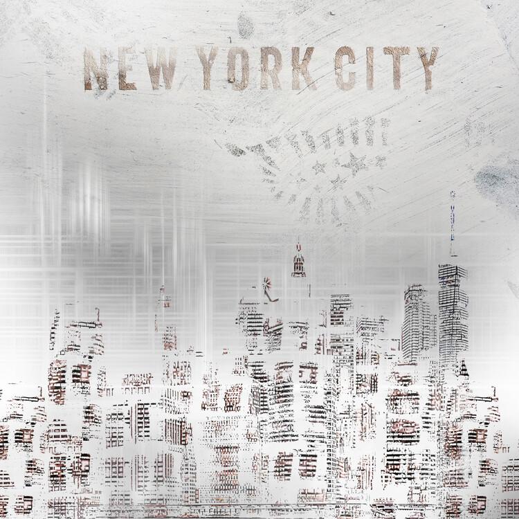 Umělecká fotografie Modern New York City Skylines