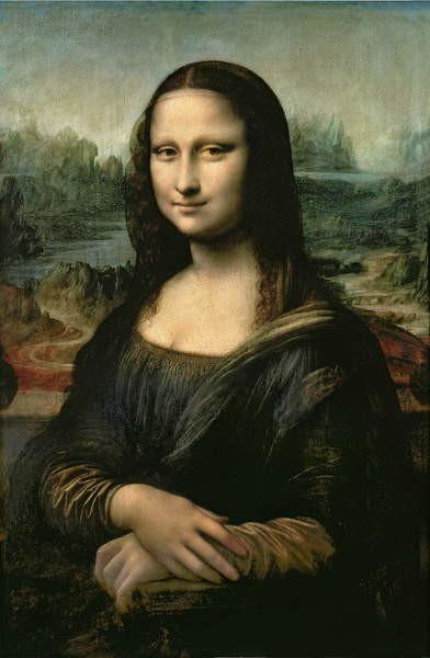 Obrazová reprodukce  Mona Lisa, c.1503-6
