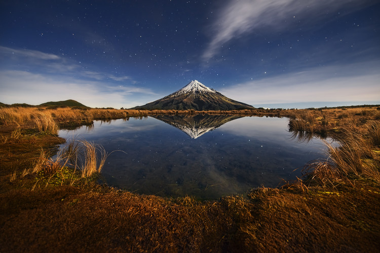 Photographie d'art Mount Taranaki