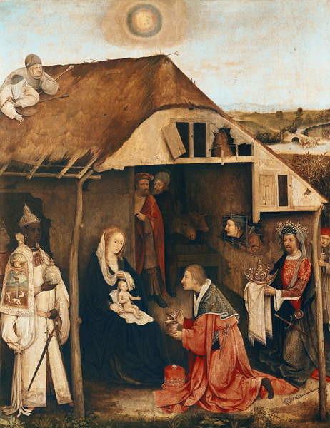 Obrazová reprodukce Nativity
