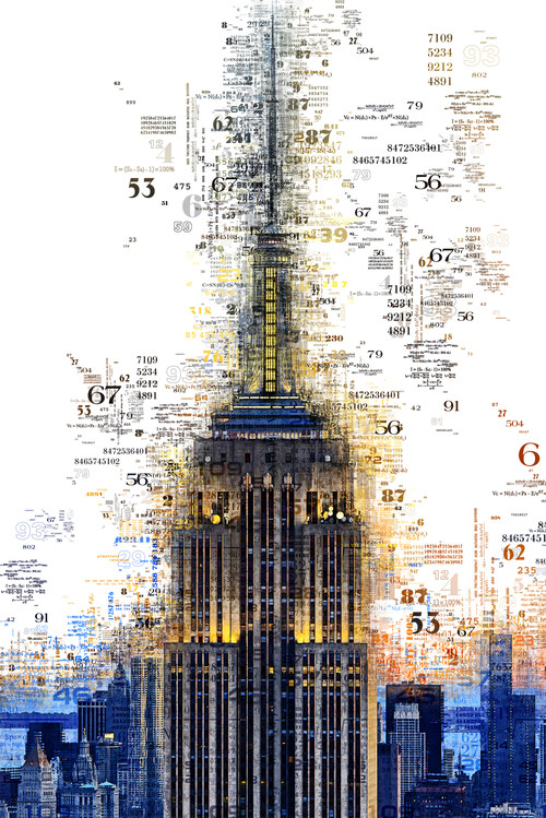 Fotografia artistica Numbers Collection - Empire State