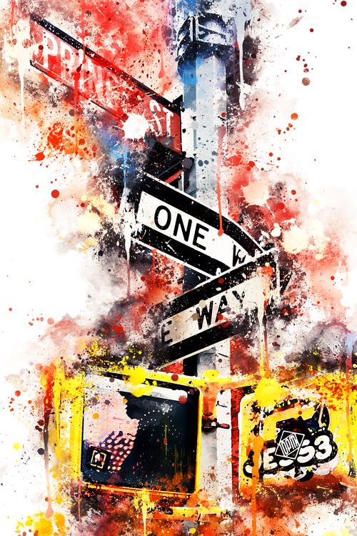 Fotografia artistica NYC Watercolor 037
