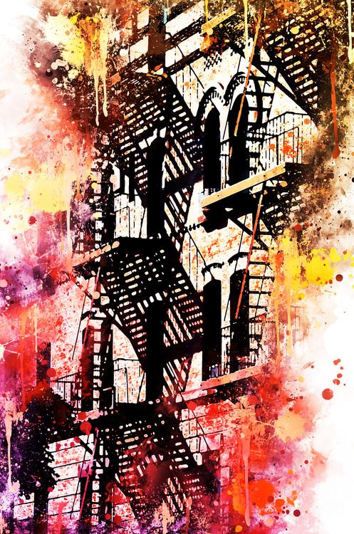 Fotografia artistica NYC Watercolor 053