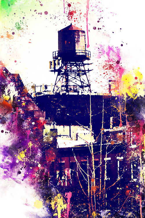 Fotografia artistica NYC Watercolor 117