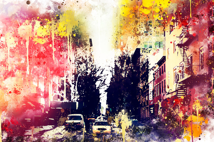 Fotografia artistica NYC Watercolor 132