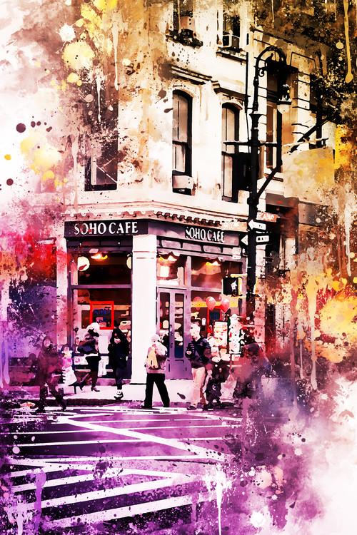 Umelecká fotografia NYC Watercolor 138