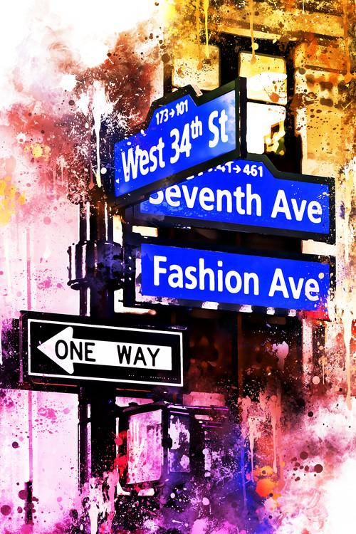 Fotografia artistica NYC Watercolor 143