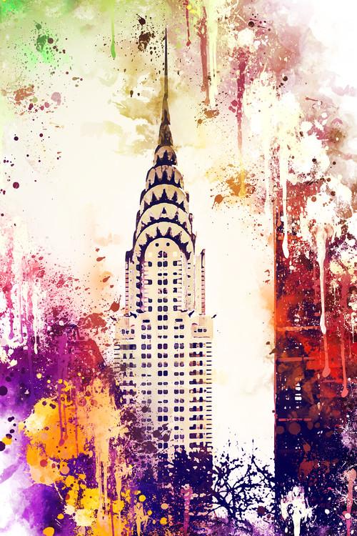Arte fotográfico NYC Watercolor 155