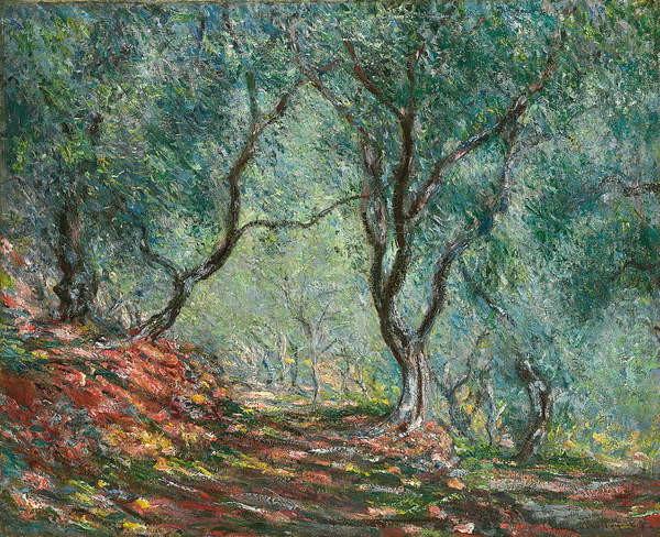 Obrazová reprodukce Olive Trees in the Moreno Garden; Bois d'oliviers au jardin Moreno, 1884
