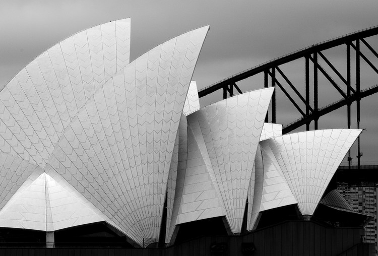 Photographie d'art Opera house Sydney