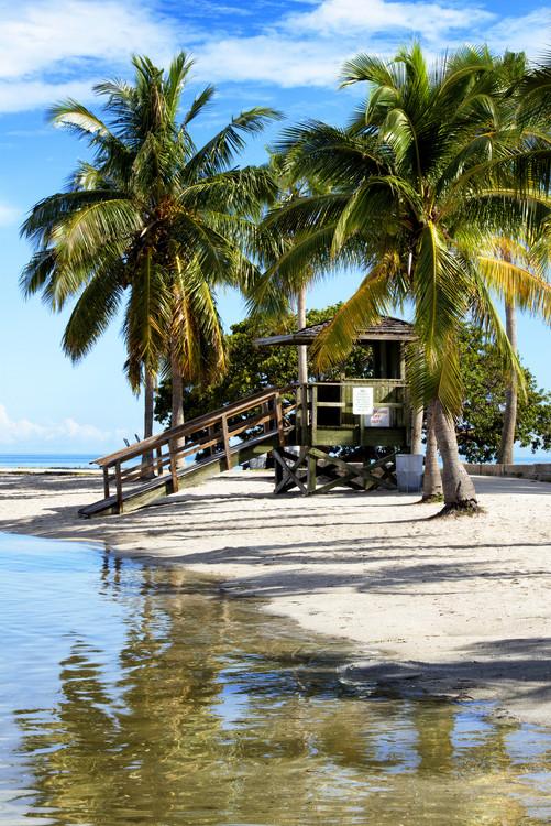 Umělecká fotografie Paradisiacal Beach - Miami