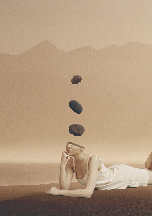 Ilustrace Peace of mind