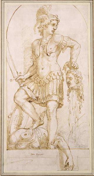 Obrazová reprodukce Perseus, c.1540