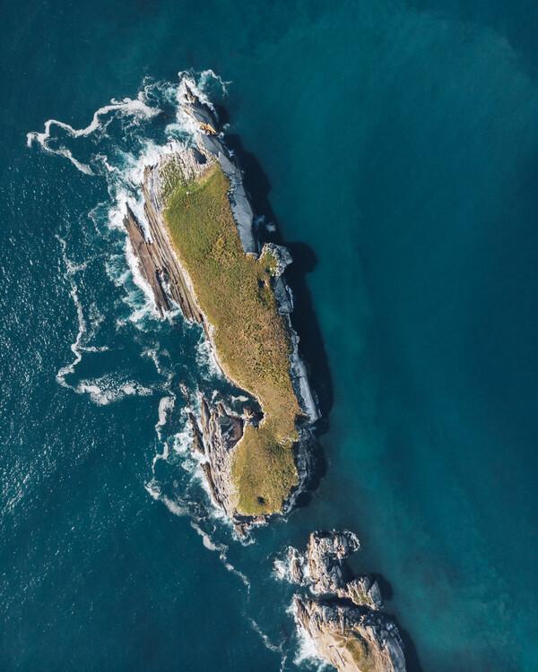 Umělecká fotografie Pigeon Island