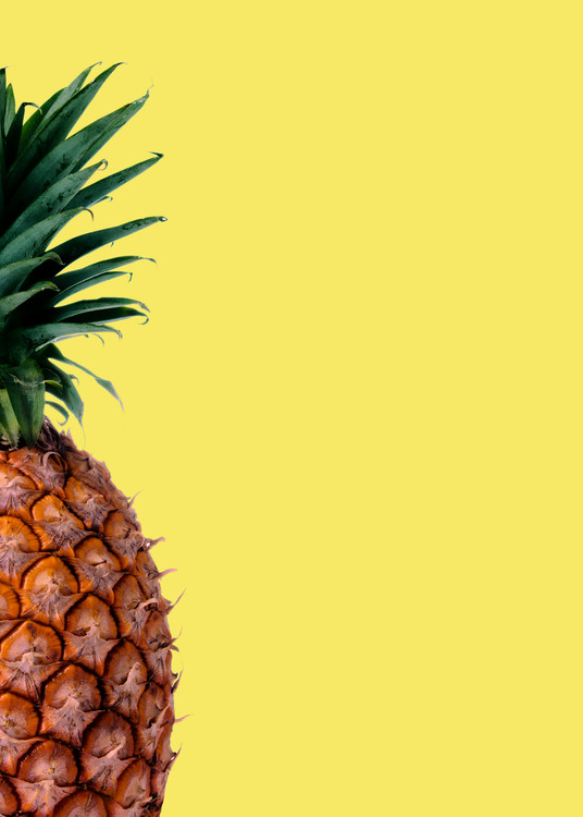 Arte fotográfico Pinapple yellow
