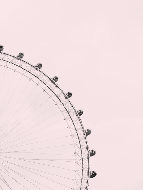 Umělecká fotografie Pink sky