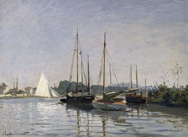 Reproducción de arte Pleasure Boats, Argenteuil, c.1872-3