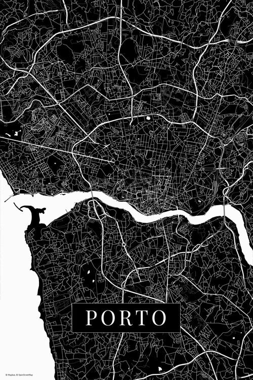 Kunstfotografie Porto black