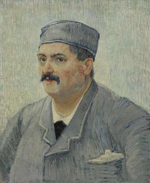 Obrazová reprodukce Portrait of Etienne-Lucien Martin, 1887