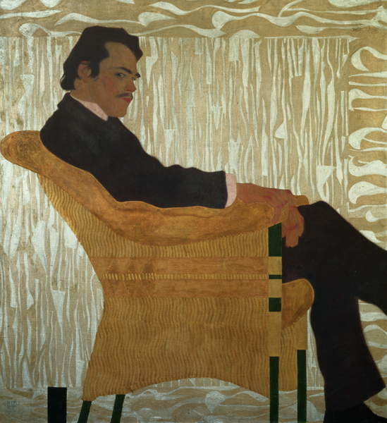 Obraz na plátně  Portrait of Hans Massmann, 1909
