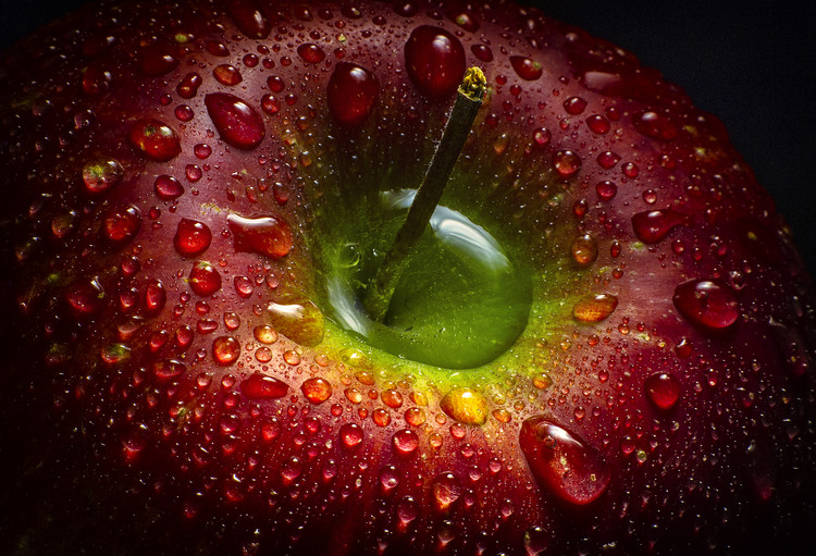 Kunst fotografie Red Apple