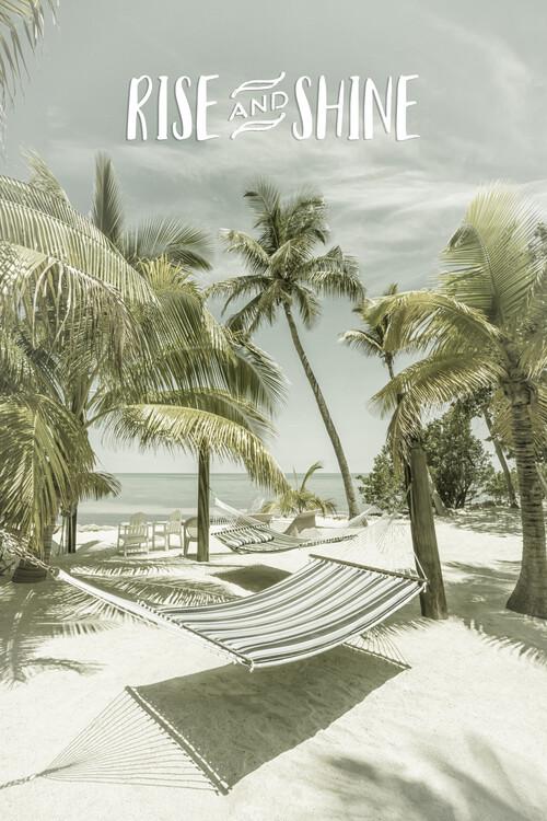 Konstfotografering Rise and shine | Beachscape