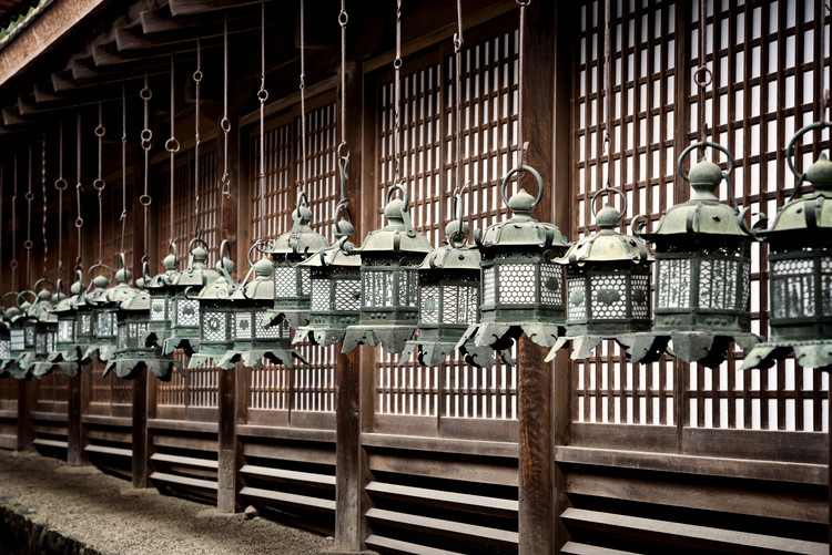 Arte fotográfico Sacred Lanterns