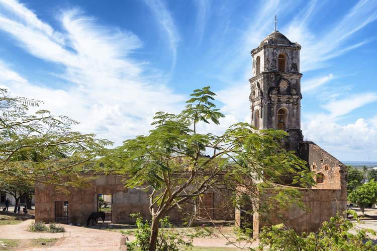 Umelecká fotografia Santa Ana Church in Trinidad