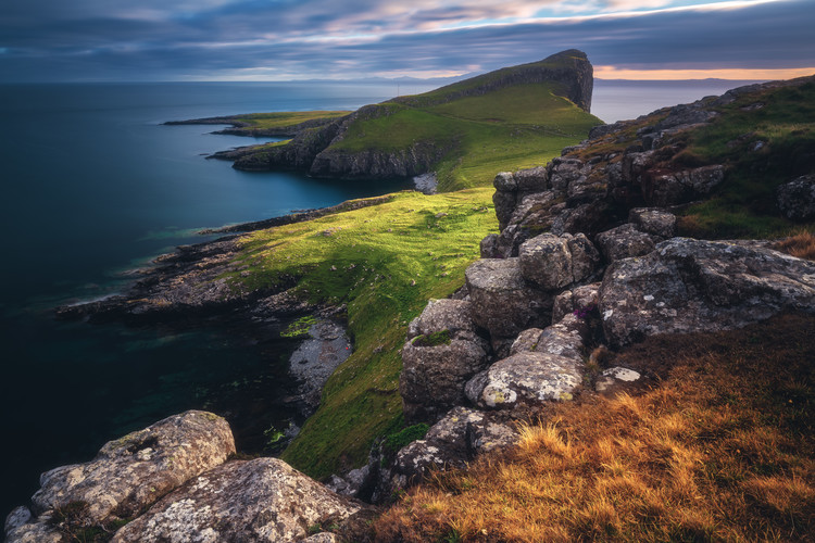 Kunst fotografie Scotland - Neist Point