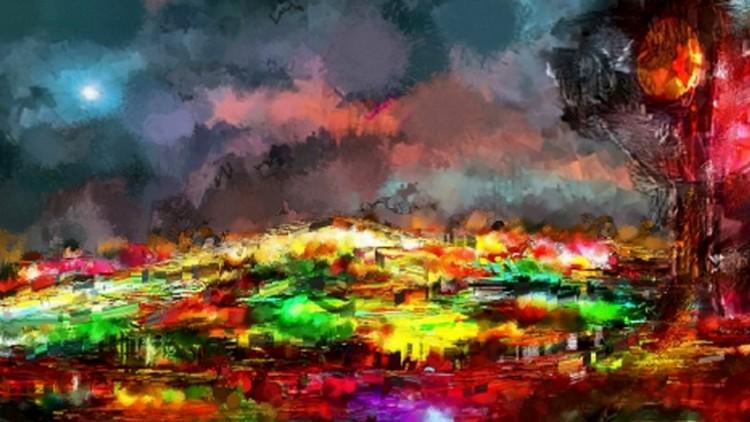 Umelecká fotografia SITEXPLOSO
