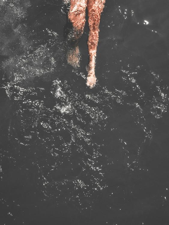 Εκτύπωση τέχνης κατόπιν ζήτησης swimleg