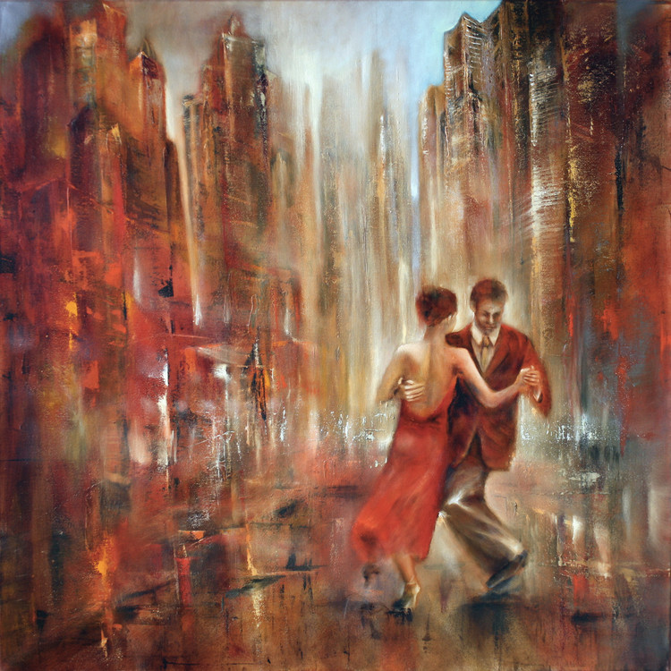 Obraz na plátně Tango