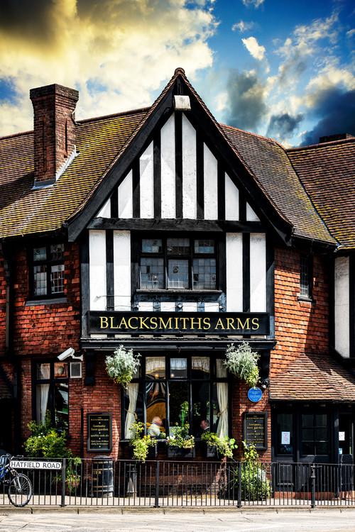 Arte fotográfico The Blacksmiths Arms